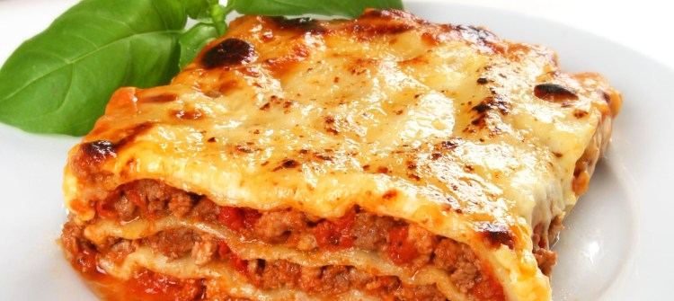 lasagne with Linette